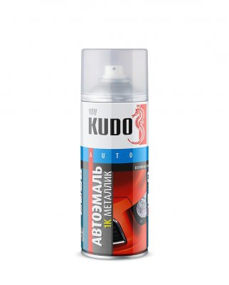Kudo Эмаль автомобильная ремонтная. Металлик, а/э
