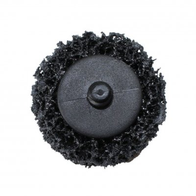 РМ Круг для снятия ржавчины крепление Roloc черный