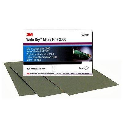 3М Бумага абразивная микротонкая Wetordry 401Q