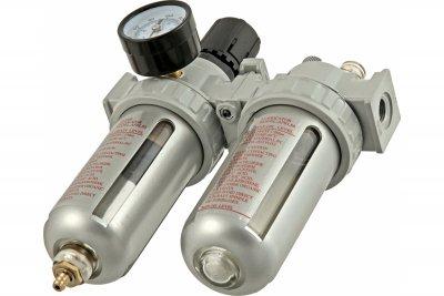 Voylet Фильтр c манометром и регулятором давления + лубрикатор AFRL-80